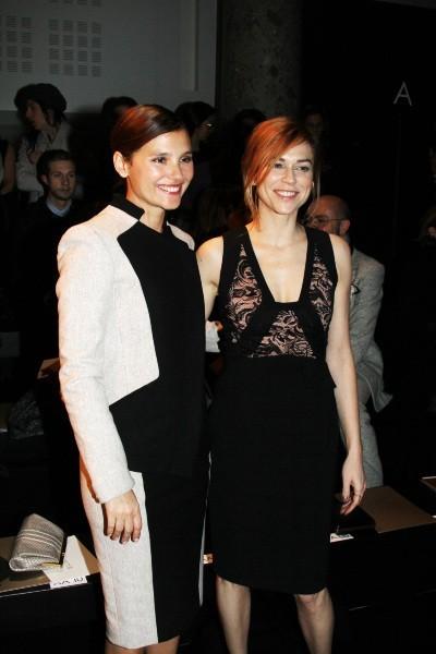 Virginie Ledoyen et Marie-Jose Croze le 23 janvier 2013 à Paris
