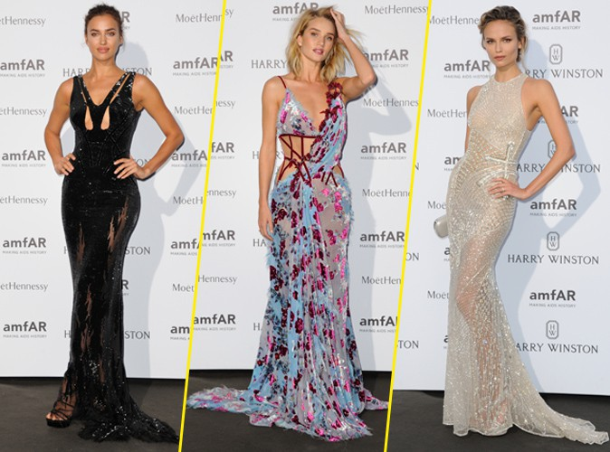 Fashion Week : Irina Shayk, Rosie Huntington-Whiteley, Natasha Poly... le défilé continue à l'amfAR !