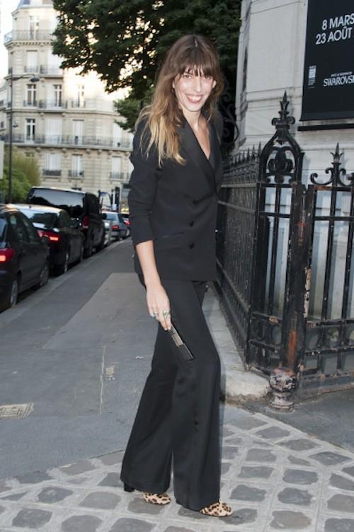 Lou Doillon lors de la soirée Vogue à Paris, le 6 juillet 2015
