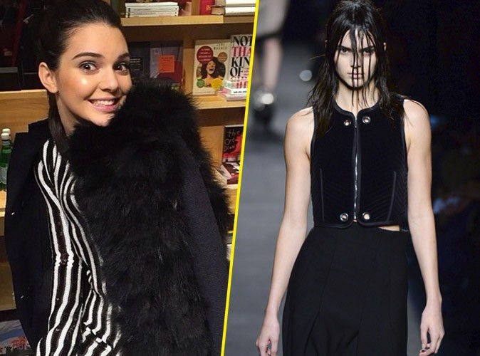 Photos : Fashion Week : Kendall Jenner : le top aux deux visages !