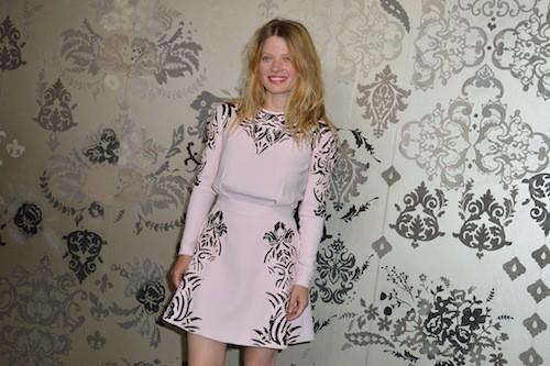 Mélanie Thierry au défilé Haute Couture automne-hiver 2015-2016 Zuhair Murad, à Paris le 9 juillet 2015 !