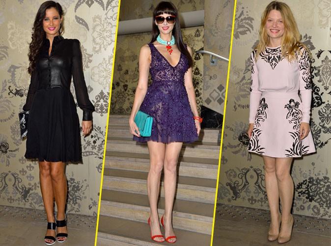 Photos : Fashion Week : Malika Ménard, Frédérique Bel, Mélanie Thierry… Baroques pour Zuhair Murad !