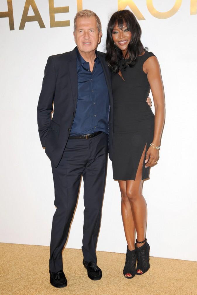 Naomi Campbell et Mario Testino le 13 septembre 2015