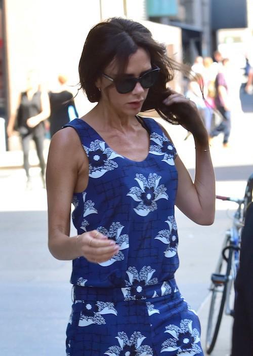 "Photos : Fashion Week New York : Victoria Beckham accusée d'embaucher des ""squelettes"" !"