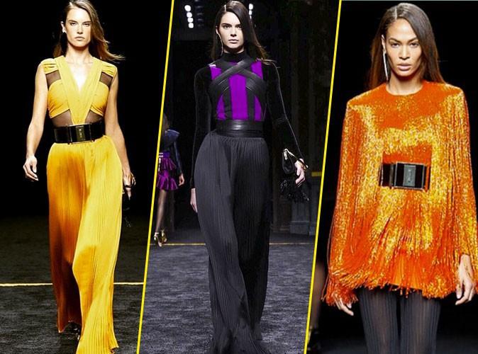 Photos : Fashion Week Paris : Alessandra Ambrosio, Kendall Jenner, Joan Smalls… Lâché de bombes chez Balmain !
