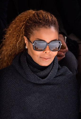 Photos : Fashion Week Paris : rare apparition de Janet Jackson avec son mari chez Hermès !