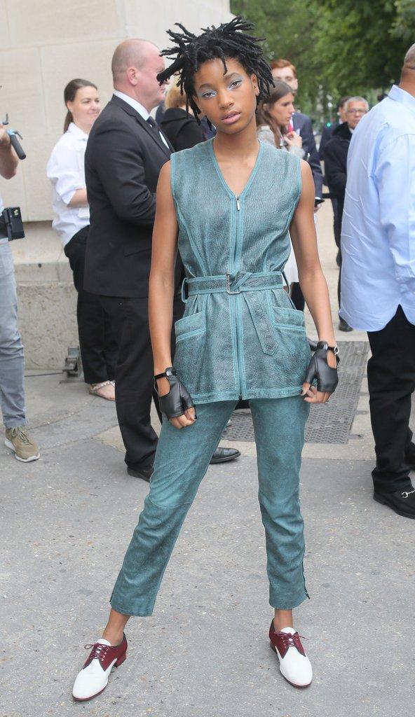 Willow Smith au défilé haute couture Chanel