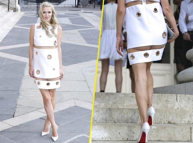 Fashion Week : robe trop courte et fesses à l'air, Nicky Hilton électrise Paris !