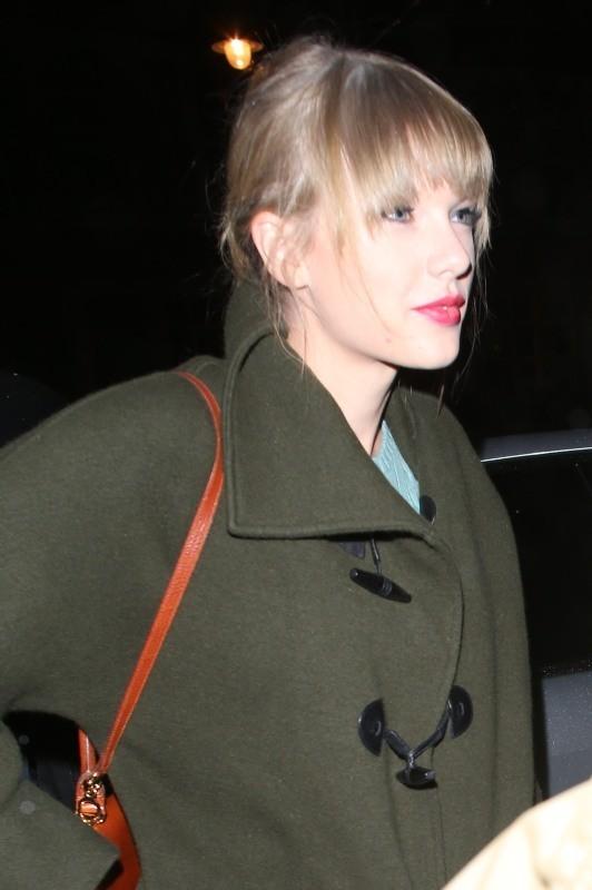 Taylor Swift à Londres, le 3 octobre 2012.