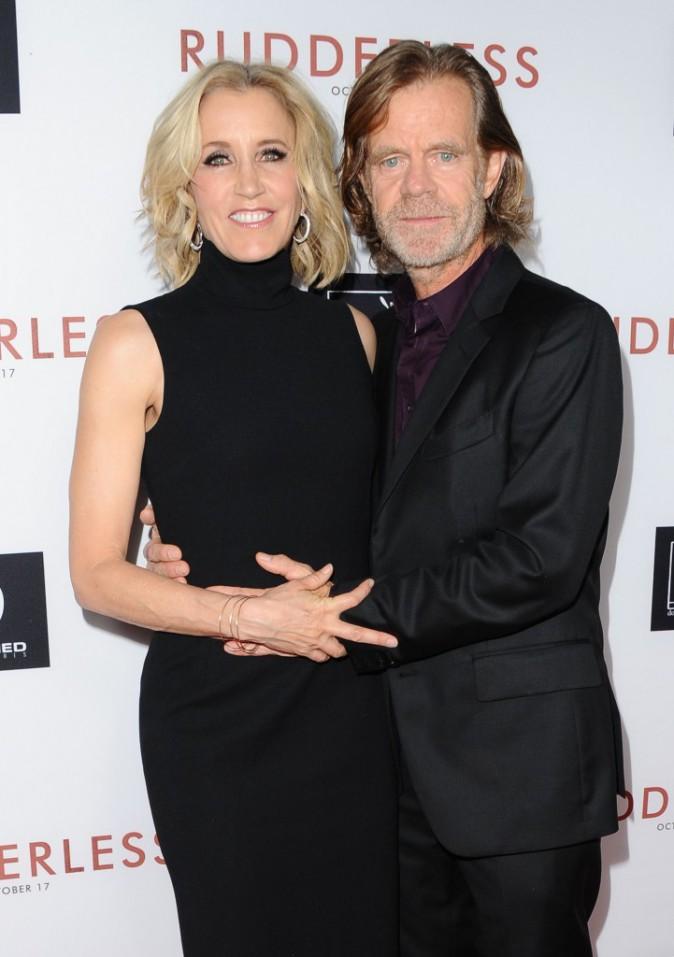 Felicity Huffman et William H.Macy à Los Angeles le 7 octobre 2014