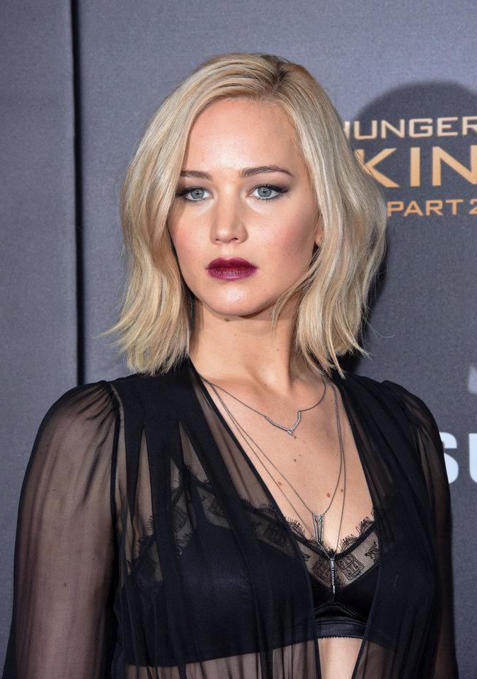Jennifer Lawrence le 18 novembre 2015
