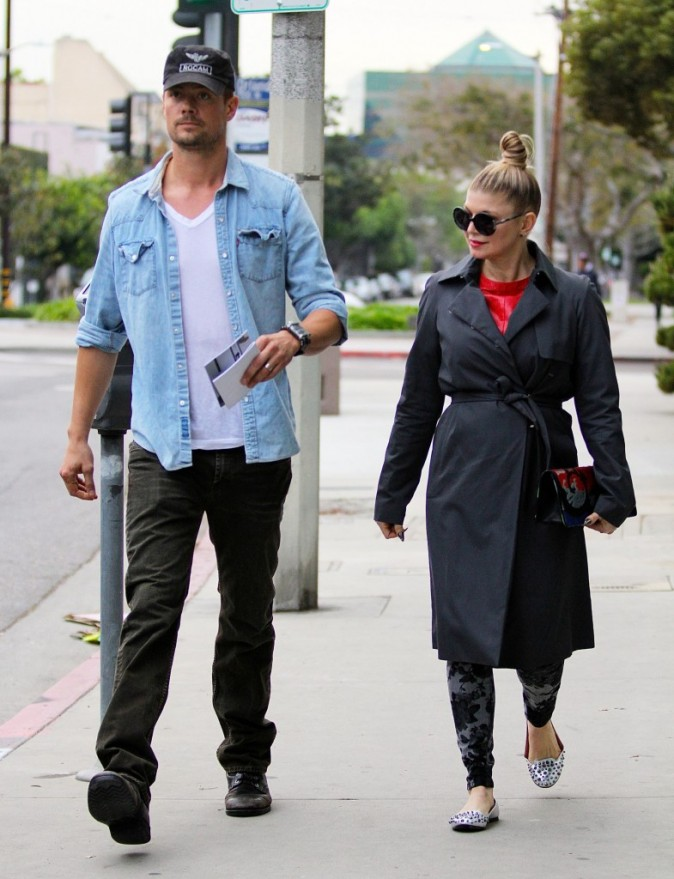Fergie et Josh Duhamel à West Hollywood le 22 décembre 2012