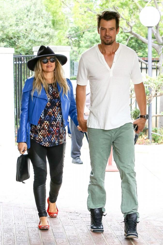 Fergie et Josh Duhamel à Brentwood, le 4 août 2013.