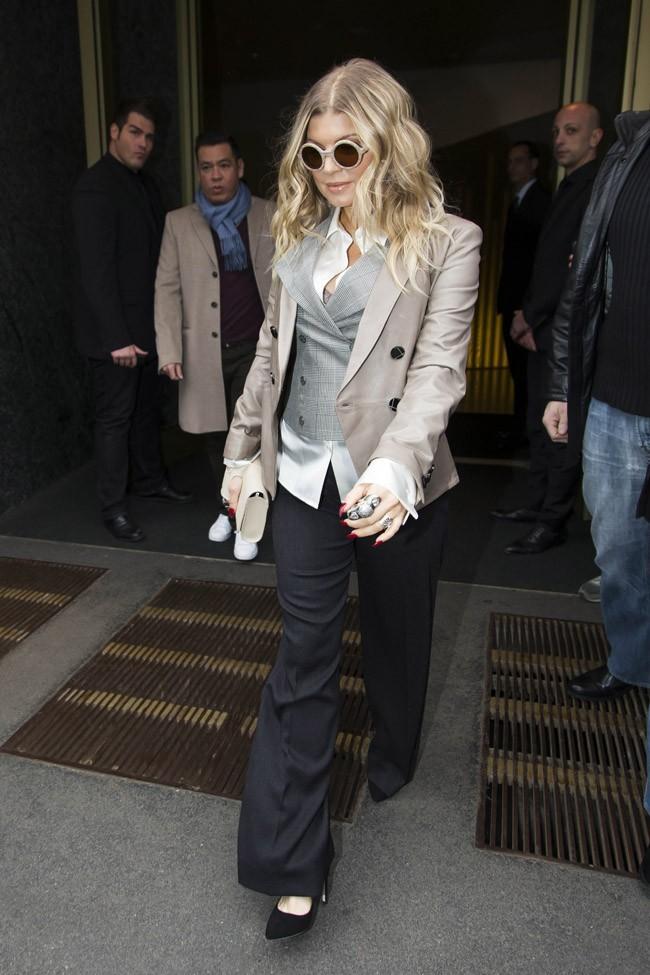 Fergie le 23 février 2013 à Milan