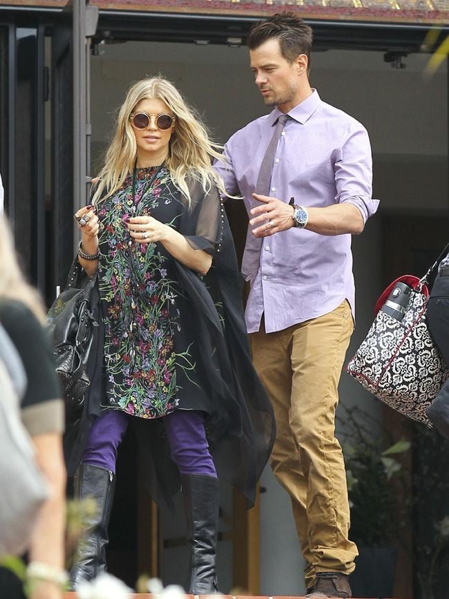 Fergie et Josh Duhamel à Santa Monica le 31 mars 2013