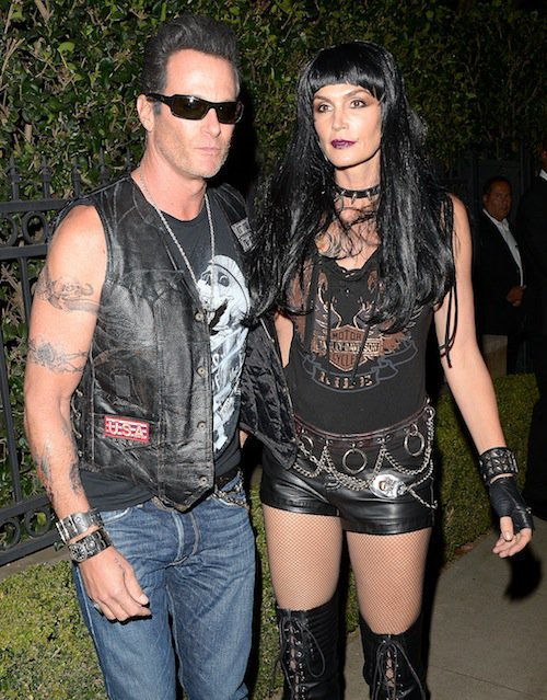 Cindy Crawford et Rande Gerber, Halloween 2015 à Los Angeles