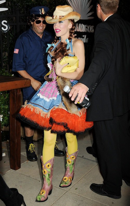 Gwen Stefani, Halloween 2015 à Los Angeles