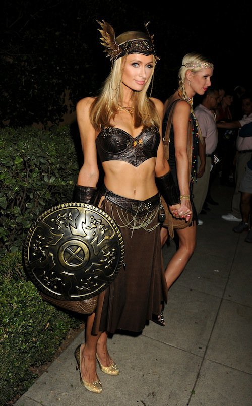 Paris Hilton, Halloween 2015 à Los Angeles