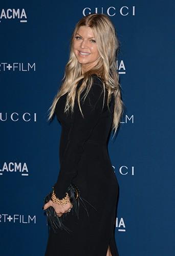 Fergie à Los Angeles le 2 novembre 2013