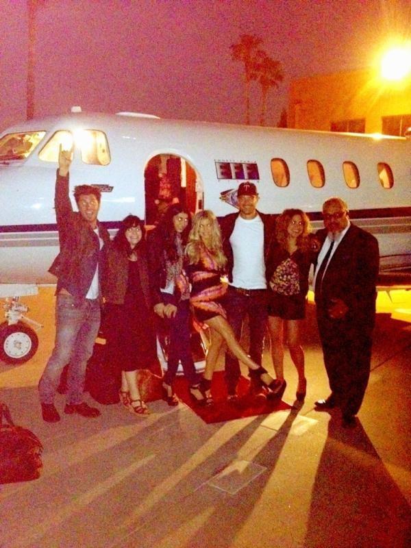 L'avantage d'avoir un jet privé !