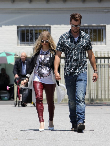 Fergie et Josh Duhamel le 12 mai 2013 à Los Angeles