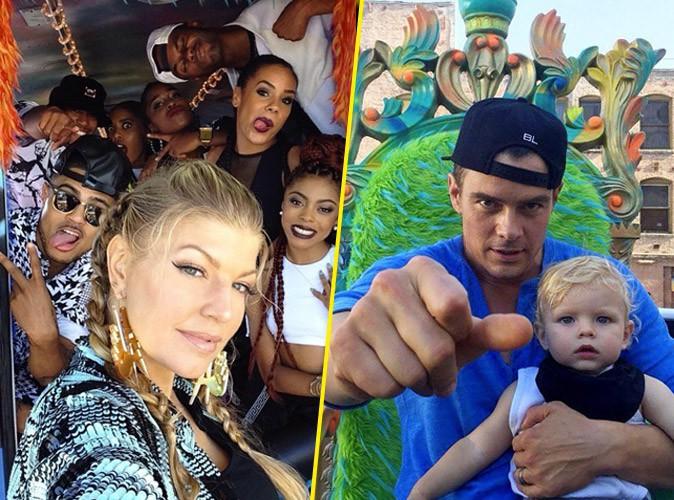 """Photos : Fergie : ses deux amours dans son nouveau clip, """"L.A. LOVE"""" ?"""