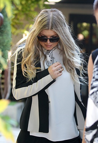 Fergie à Los Angeles le 17 octobre 2013