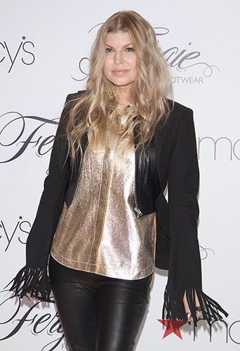 Fergie à Las Vegas le 19 février 2014