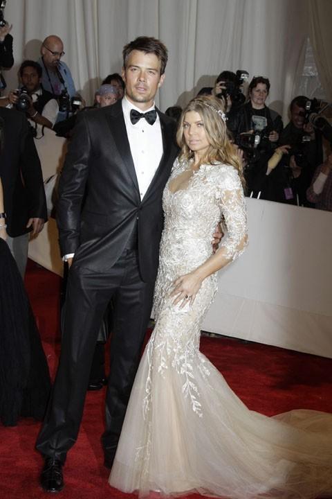 Fergie et Josh Duhamel au MET Ball, le 2 mai 2011 à New York.