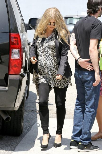 Fergie le 13 juin 2013 à Santa Monica