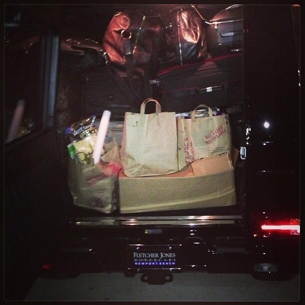 Quand Hilary Duff part à Coachella, le coffre est bien rempli !