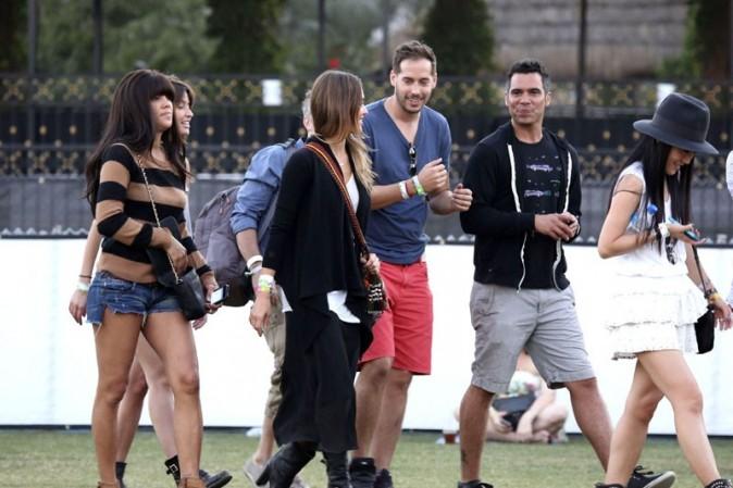 Jessica Alba au Festival de Coachella le 19 avril 2013