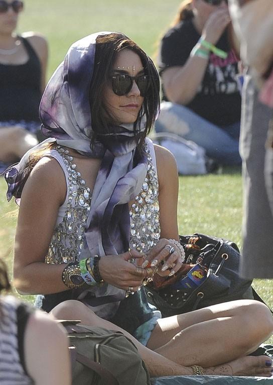 Vanessa Hudgens au Festival de Coachella le 14 avril 2013