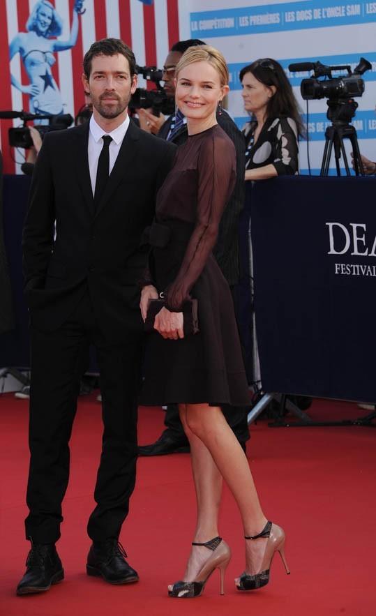 Kate Bosworth et Michael Polish lors de la cérémonie d'ouverture du 37e Festival du Cinéma Américain de Deauville, le 4 septembre 2011.