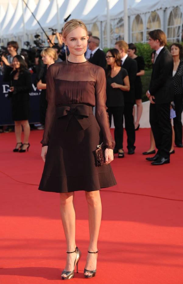 Kate Bosworth lors de la cérémonie d'ouverture du 37e Festival du Cinéma Américain de Deauville, le 4 septembre 2011.