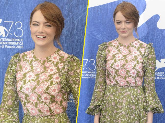 Festival de Venise : Emma Stone sourire ravageur pour la présentation du film