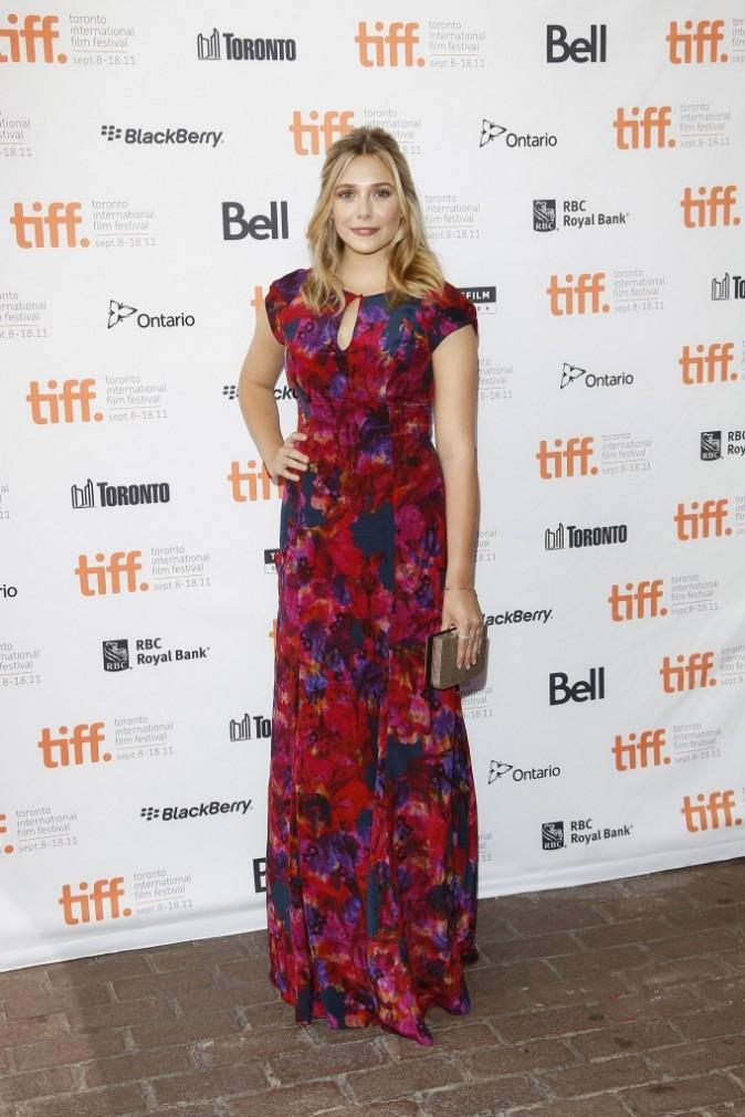 Elizabeth Olsen lors du Festival du Film de Toronto, le 11 septembre 2011.