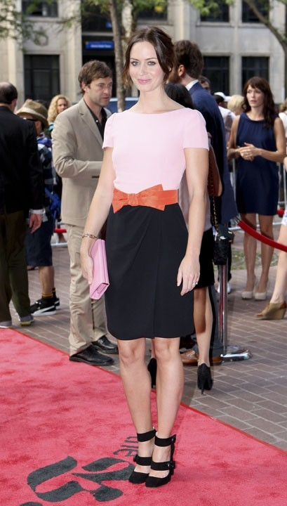Emily Blunt lors du Festival du Film de Toronto, le 11 septembre 2011.