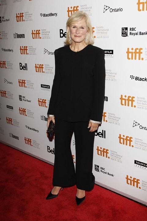 Glenn Close lors du Festival du Film de Toronto, le 11 septembre 2011.