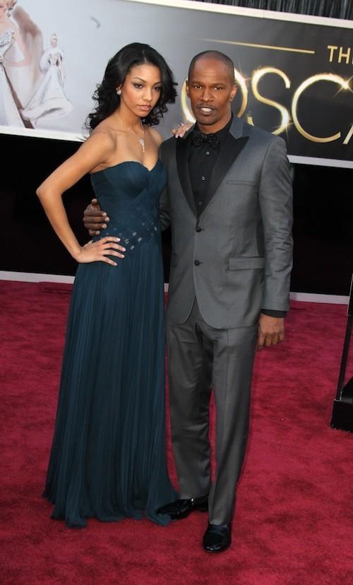 Corinne Bishop & Jamie Foxx