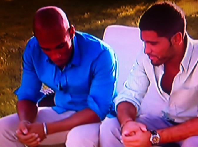 Florian aide Mehdi à préparer son discours