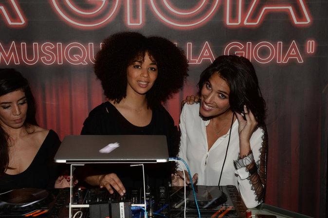 Aurélie Konaté et Laurie Cholewa