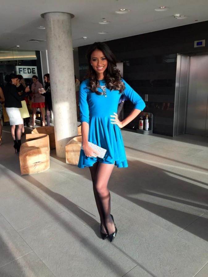 Photos : Flora Coquerel : l'aventure Miss Monde continue, la belle de retour à Londres !