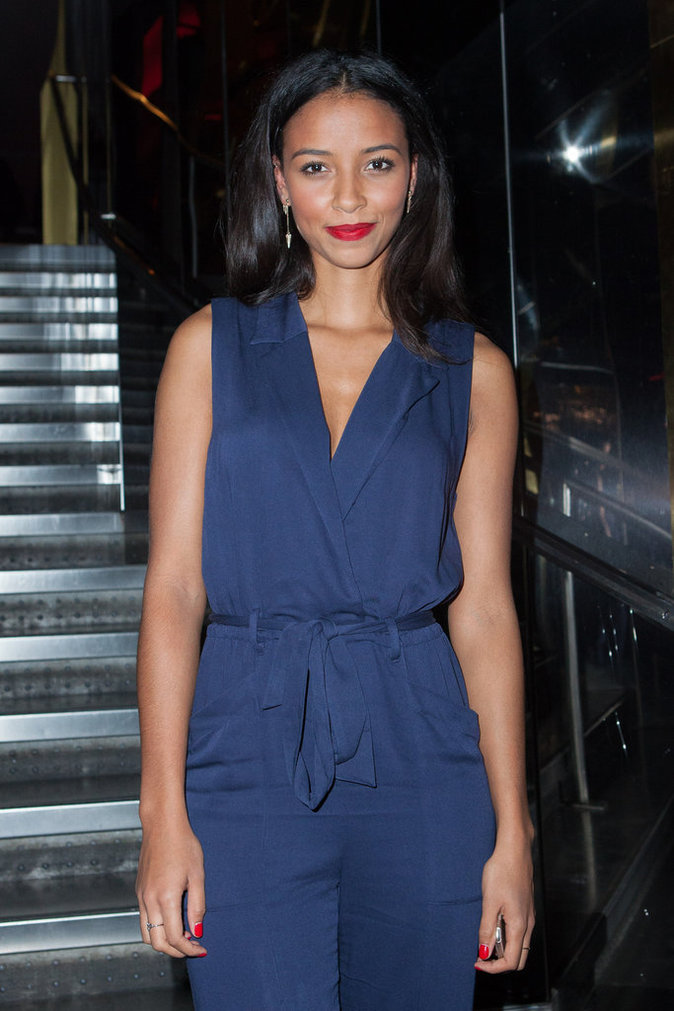Flora Coquerel à Paris le 8 octobre 2015