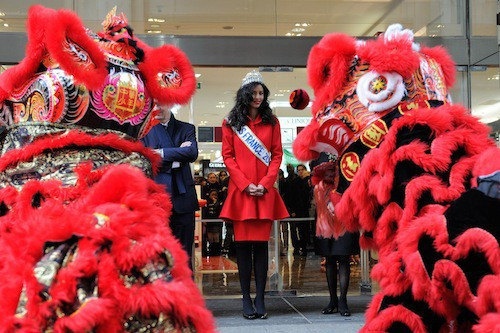 Photos : Flora Coquerel : une Miss France magnifique pour fêter le nouvel an chinois !