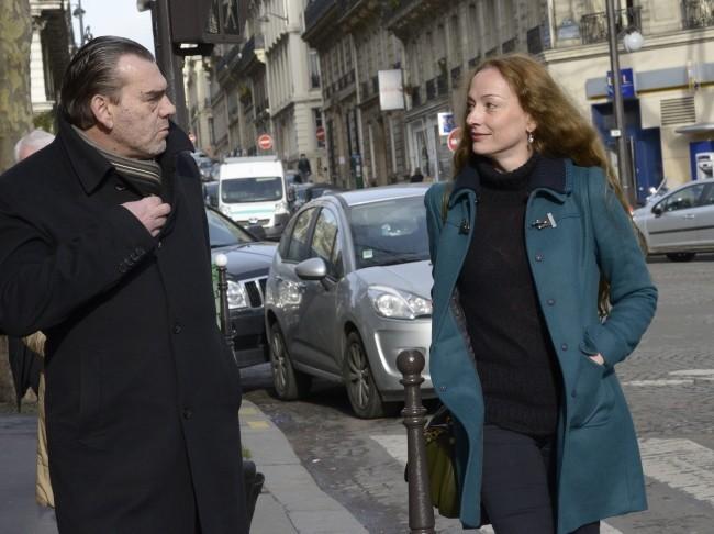 Florence Cassez le 28 janvier 2013 à Paris