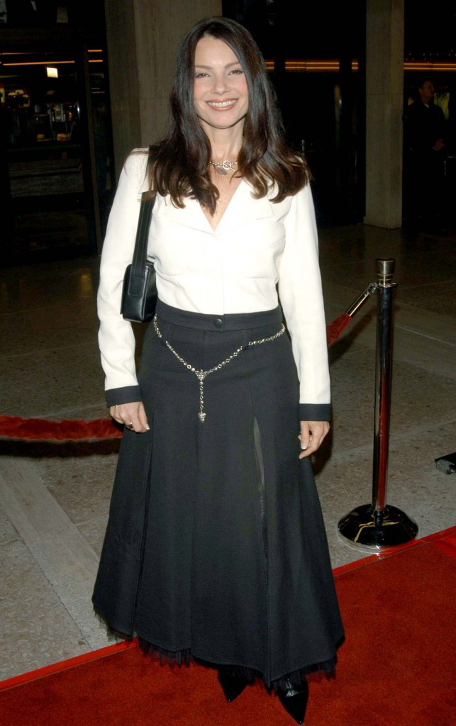 Fran Drescher en 2002, preuve que l'actrice n'a pas changé d'un poil en 13 ans !