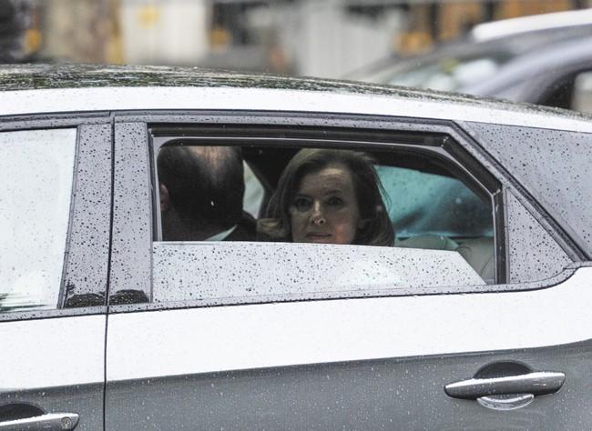 La nouvelle Première Dame de France n'en revient pas...