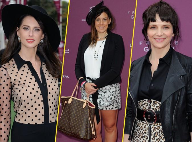 Photos : Frédérique Bel, Marion Bartoli, Juliette Binoche... Toutes au top au Qatar Prix de l'Arc de Triomphe !