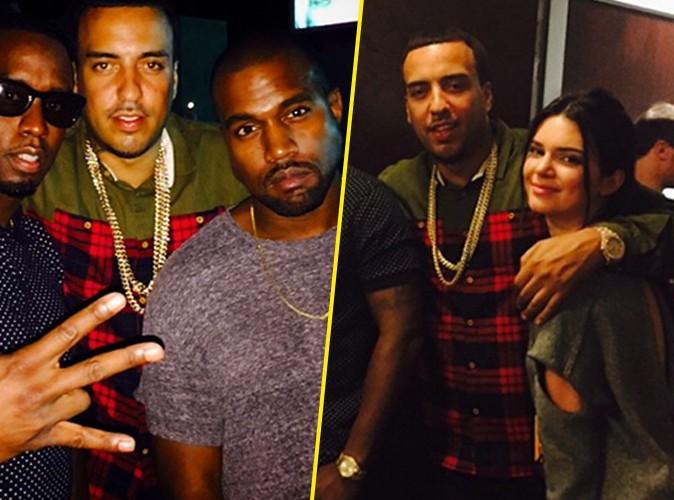 Photos : French Montana : super complice avec Kendall Jenner et Kanye West, mais où est Khloe ?